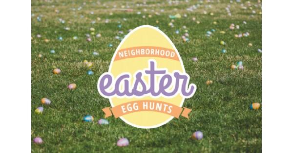 Easter Egg Hunt in West Carrollton