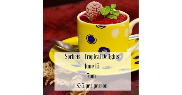 Sorbets - Tropical Delights