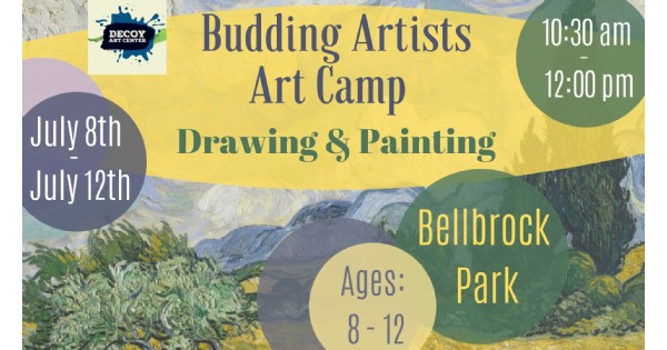 Budding Artists Art Camp - Drawing & Painting