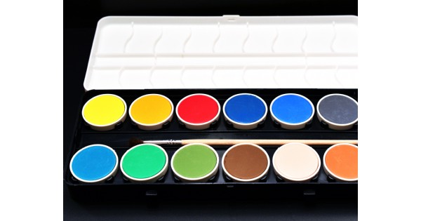 Watercolor Course. Age 8-11