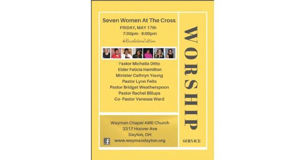 Seven Women At The Cross