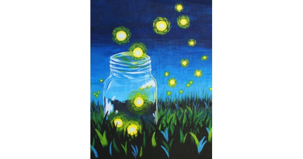 Paint & Sip - Light Up My Jar