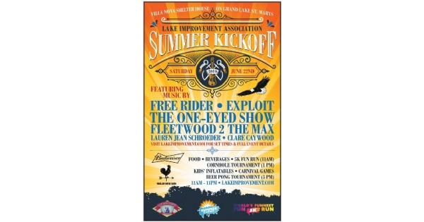 Grand Lake St. Marys Summer Kickoff