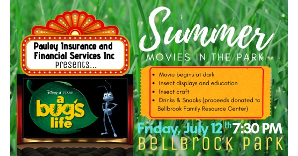 Summer Movies in the Park     A Bug's Life