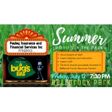 Summer Movies in the Park  |  A Bug's Life