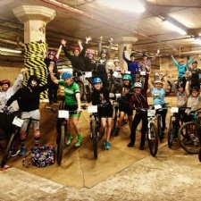 Ladies Night at Mike's Bike Park - suspended