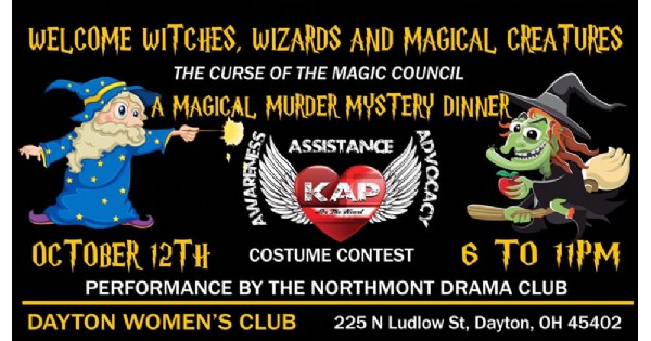 Magical Murder Mystery Dinner
