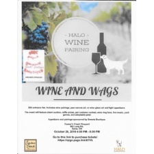 Wine and Wags: Wine Pairing Event