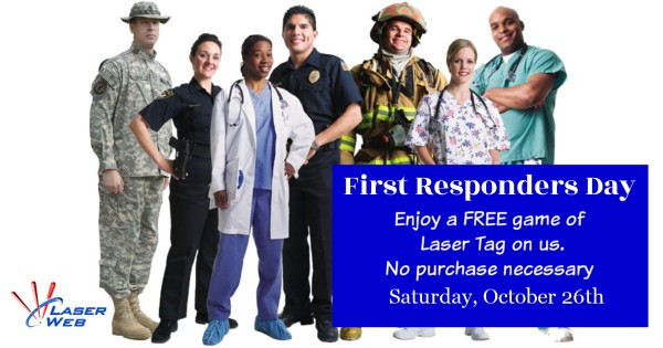 First Responders Day at Laser Web