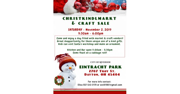 Christkindlmarkt and Craft Sale