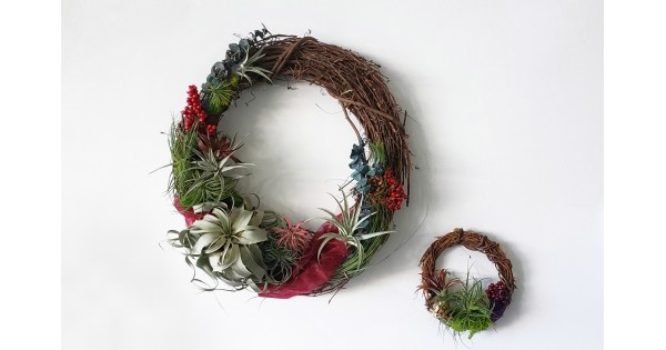 Holiday Wreath Workshop (First Friday)