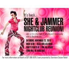 She & Jammer Nightclub Reunion