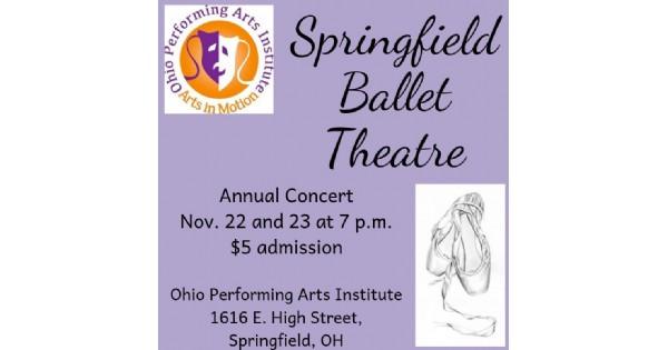 Springfield Ballet Theatre Concert