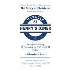 The Story of Christmas featuring the drama Miracle at Henry's Diner