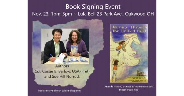 Book Signing at Lula Bell