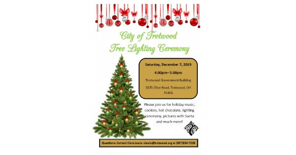 City of Trotwood Tree Lighting Ceremony