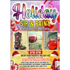 Holiday Sip & Paint