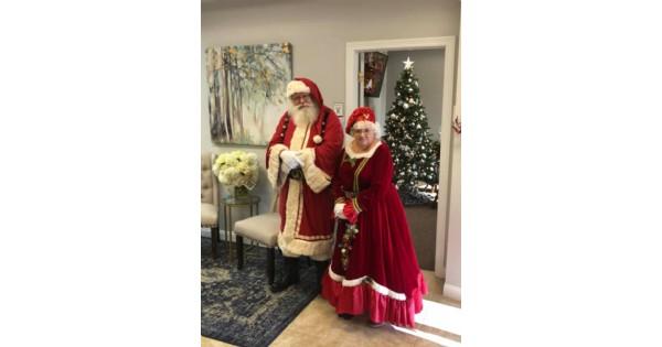 Santa is coming to City Barbeque, Beavercreek
