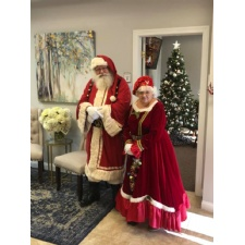 Santa is coming to City Barbeque, Centerville