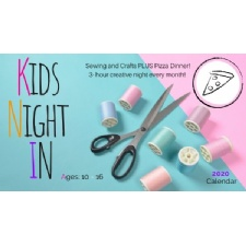 Kids Night In - Monthly Creative Friday Night + Pizza Dinner