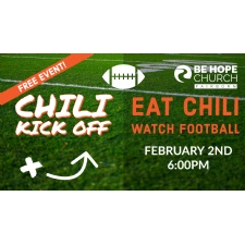 Super Bowl Chili Kickoff