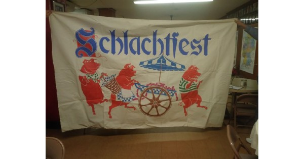 Schlachtfest (German Pig Roast)