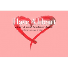 Have A Heart Charity Dinner and Auction at First Grace!