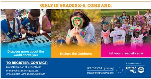 Girl Scouts Spring Break Day Camp 2020 - canceled