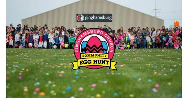 Community Egg Hunt at Ginghamsburg Church