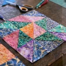 Kids Can Quilt Summer Camp - Lap Quilt - 3 day camp