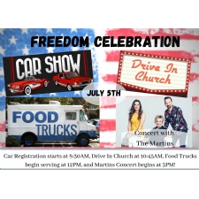Freedom Celebration 2020 At First Grace Church