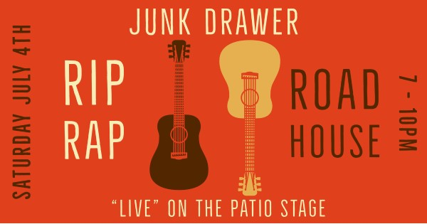 Junk Drawer will be LIVE at the Roadhouse - canceled