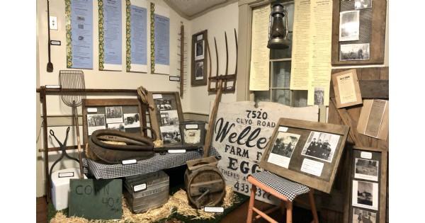 E-I-E-I-Whoa! A Sense of Early Farm Life exhibit