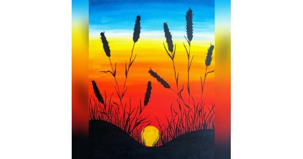 Paint Night - Harvest Sunset