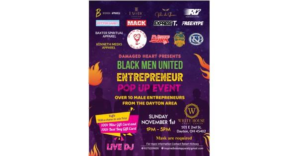 Black Men United Entrepreneur Pop Up Event