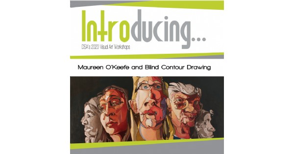 Introducing...Maureen O'Keefe and Blind Contour Drawing