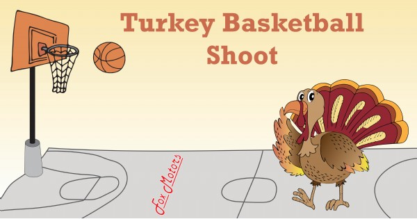 Turkey Basketball Shoot