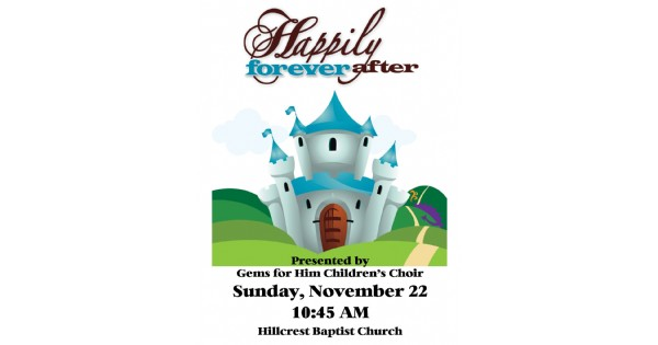 Happily Forever After Children's Musical