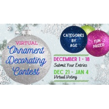 Christmas Ornament Decorating Contest