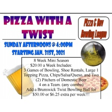 Pizza with a Twist Mini League