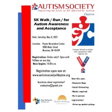 Dayton Autism Society's 5K Walk / Run for Autims Acceptance