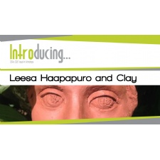 Leesa Haapapuro and Clay