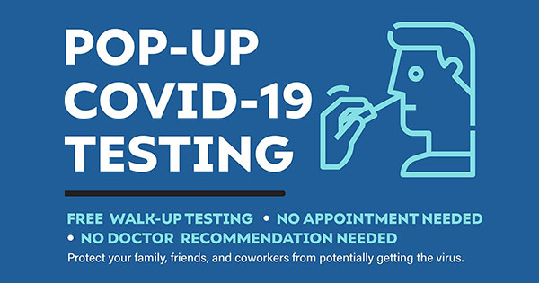 Pop-Up Covid-19 Testing - Montgomery County Fairgrounds
