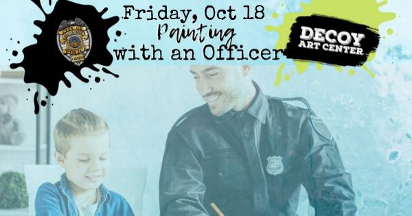 Pottery Painting with an Officer