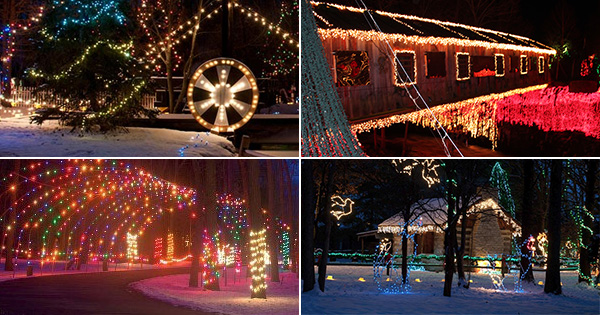 Top 5 Christmas Lights displays around Dayton 2018