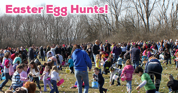 Easter Egg Hunts around Dayton