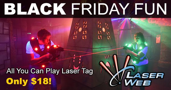 Black Friday at Laser Web