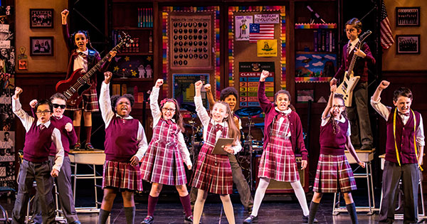 School of Rock: The kids steal the show
