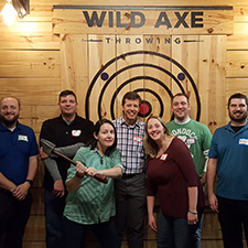 Ready to get your Axe on?  Wild Axe Throwing reopens today