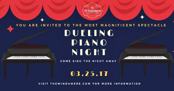 Dueling Piano Night at The Windamere